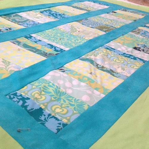 Finished top, ready for quilting.