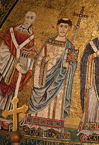 Mosaic of St Lawrence