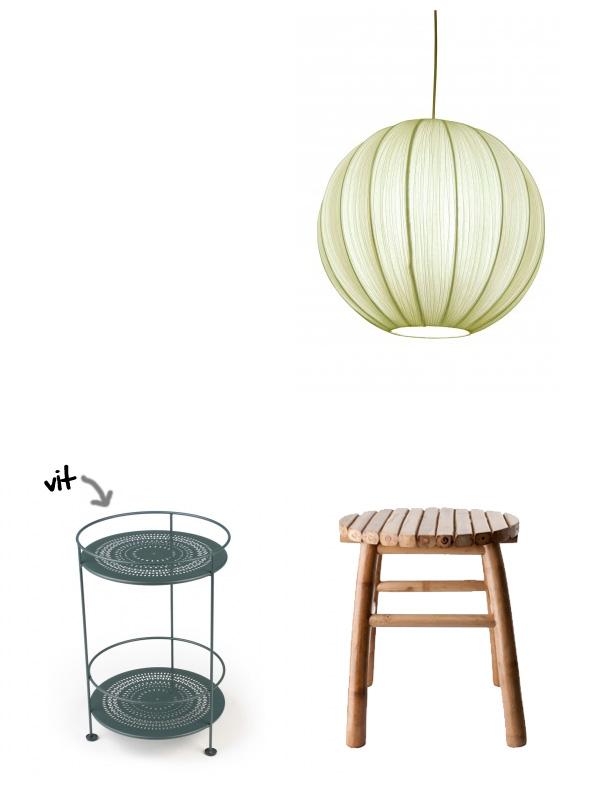Lampa-pall-bord