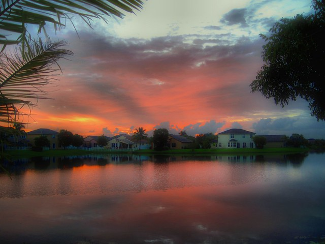 Sunrise HDR 20120810