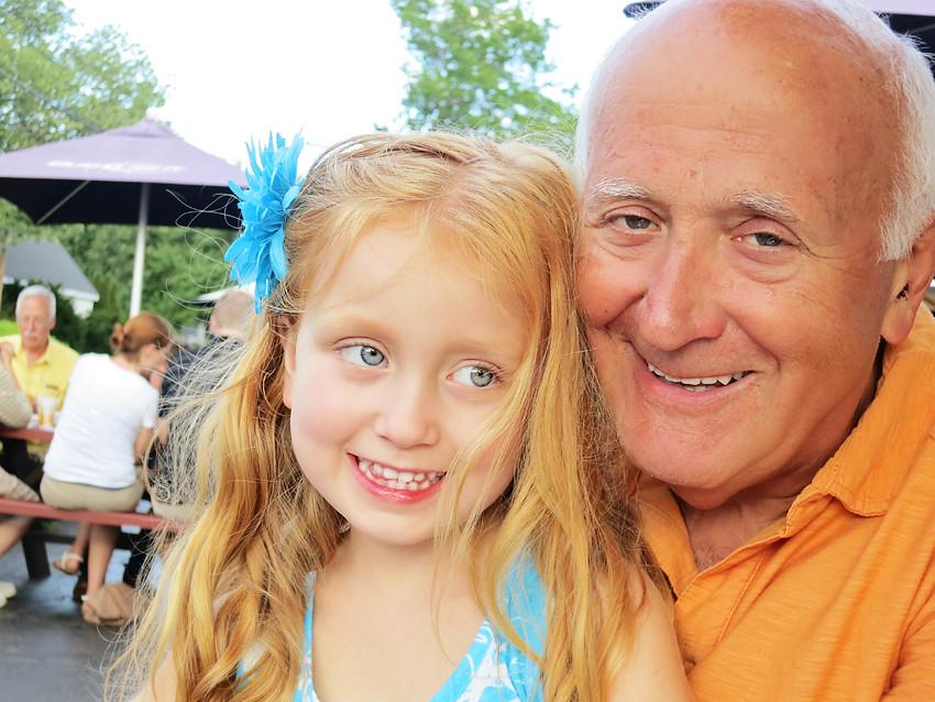 abi and grandpa