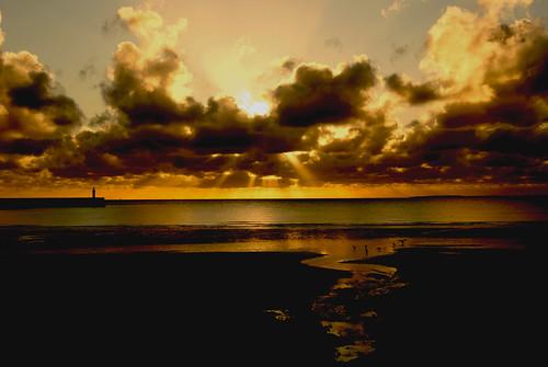 sunset sunrise le matin binic