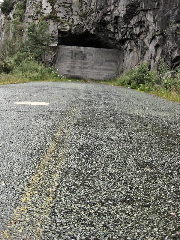 Road ending here.