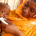 """I challenge anyone not to be moved"". A woman feeds ready-to-use therapeutic food to her malnourished daughter in Niger"
