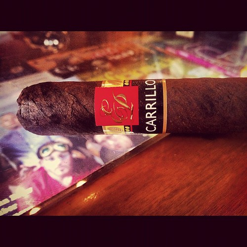 Starting off with a @EPCarrillo maduro
