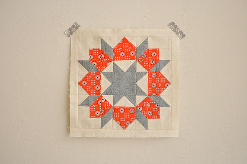 Mini Swoon Block by Katrina