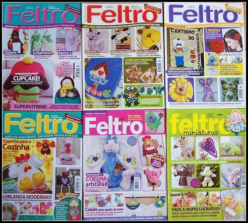 SANTO FELTRO EM REVISTAS by edilmarasantiago