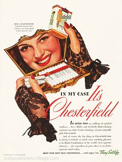 Rita Hayworth for Chesterfield