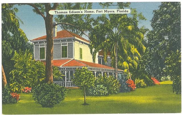 Thomas Edison 39 S Home Fort Myers Florida Vintage