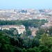 The view over Rome from Gianicolo