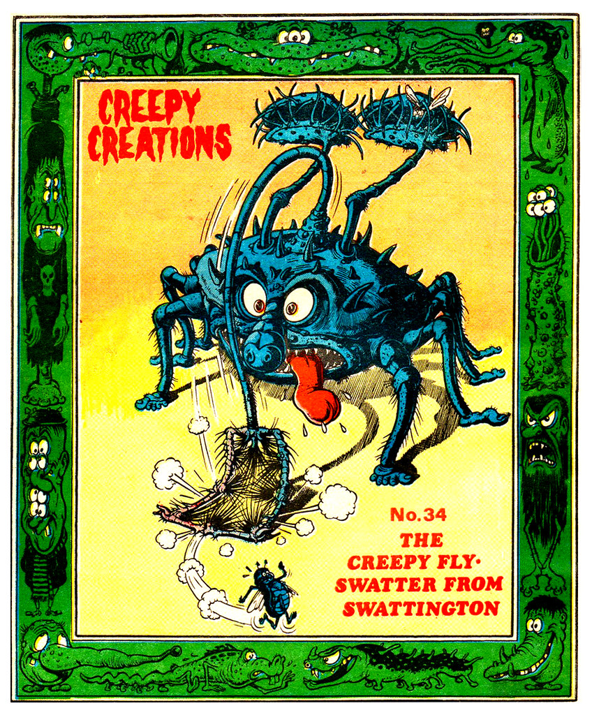 Creepy Creations No.34 - The Creepy Fly Swatter From Swattington