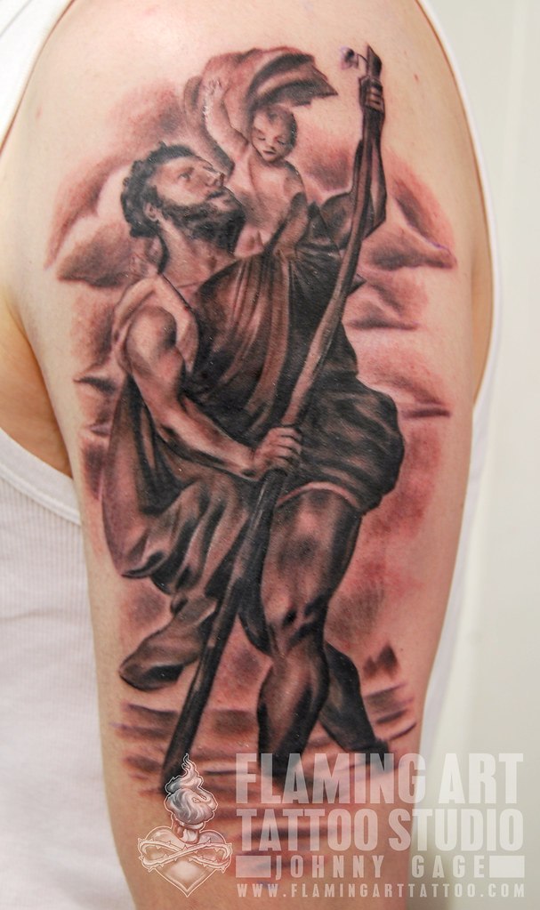 st christopher tattoo