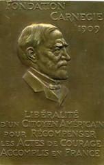 Carnegie Hero medal France obverse