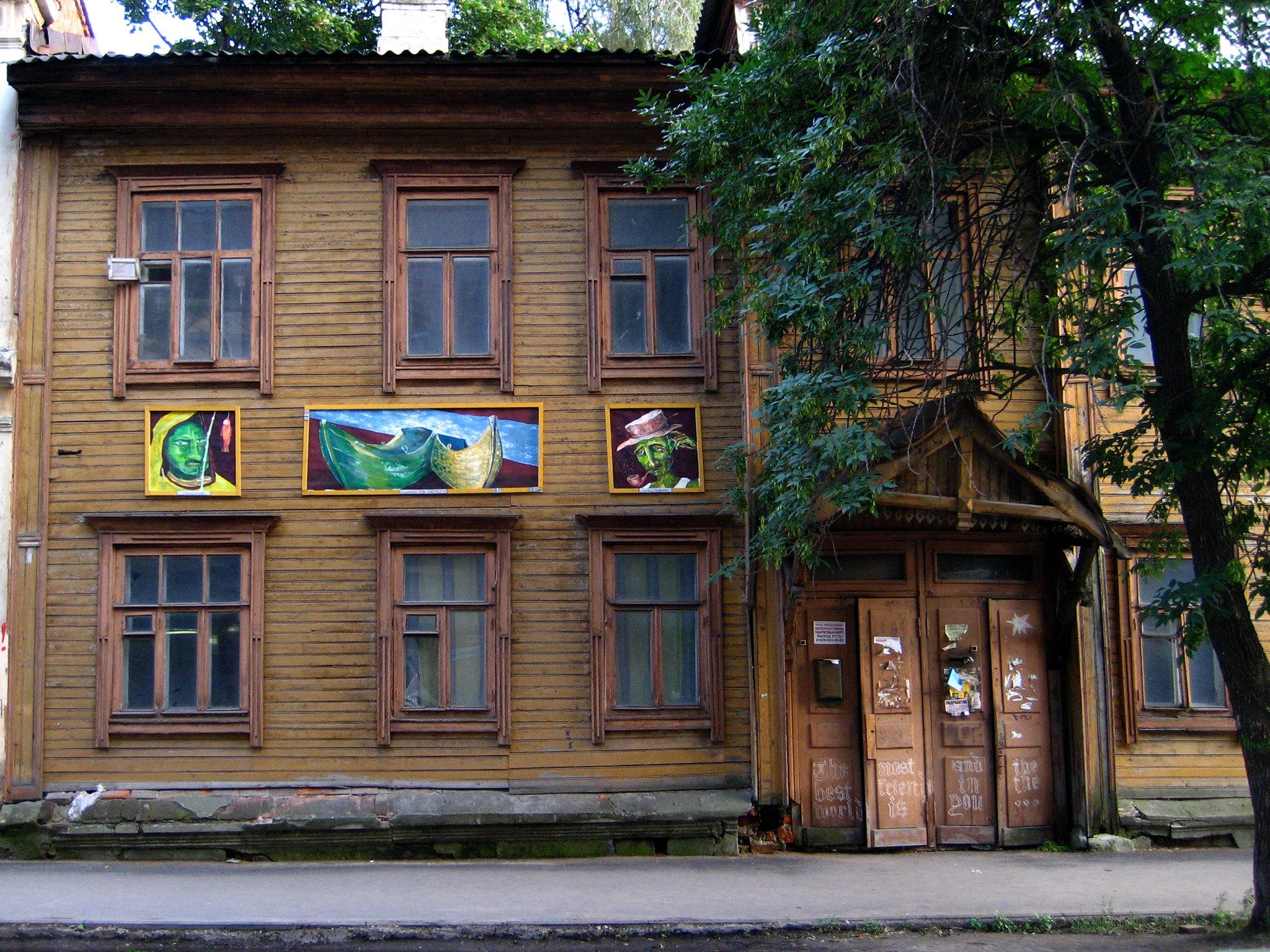 В галереи чтобы спасти старые дома