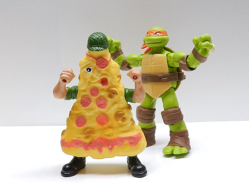 Food Fighters, Pizza, Ninja Turtles