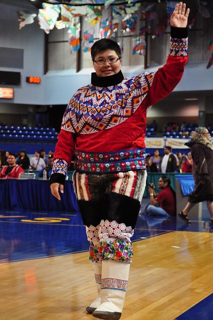 Representative from Greenland [Eskimo Olympic, Alaska]
