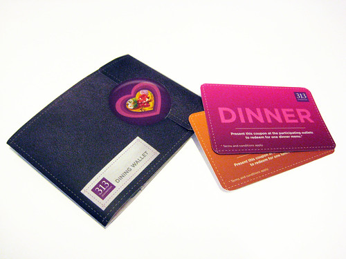 313 Food Fest Dining Wallet