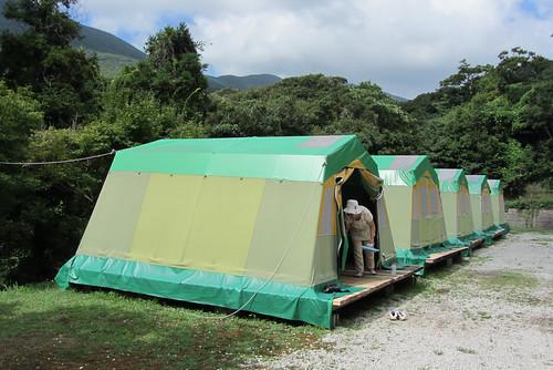 Ayumodoshi Natural Park Camping