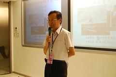 環保署長沈世宏認為此次會議象徵台灣在環保民主審議的新方向。(鄭鈺琳 攝)
