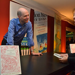 Alain de Botton | Alain de Botton signs his book for an avid reader