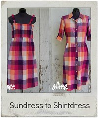 Sundress to Shirtdress