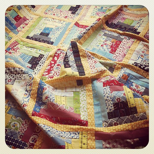 American Jane quilt top