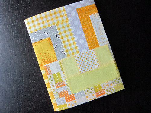 Yellow Brick Road covered journal