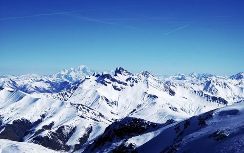 [フリー画像素材] 自然風景, 山, 雪山 ID:201208250600