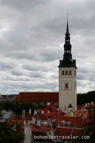 view of Tallinn from high old town point (2)