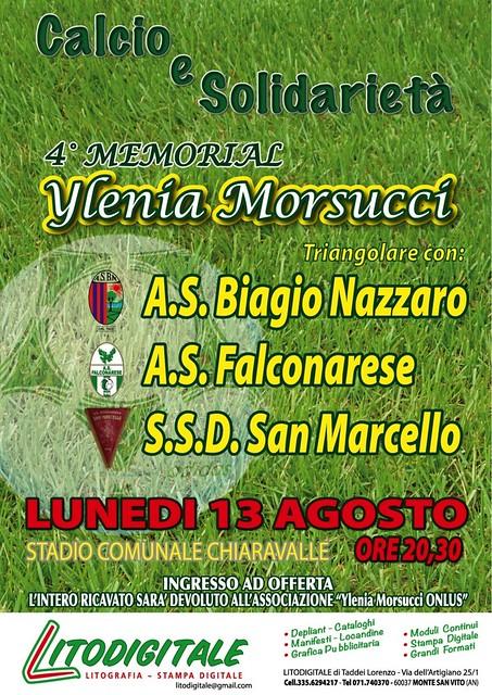 4° Memorial YLENIA MORSUCCI