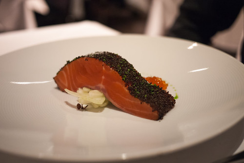 Confit of ocean trout at Tetsuya's