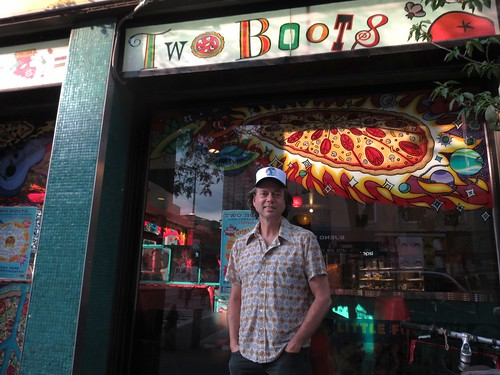 Two Boots owner Phil