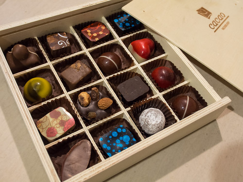 Cacao chocolates