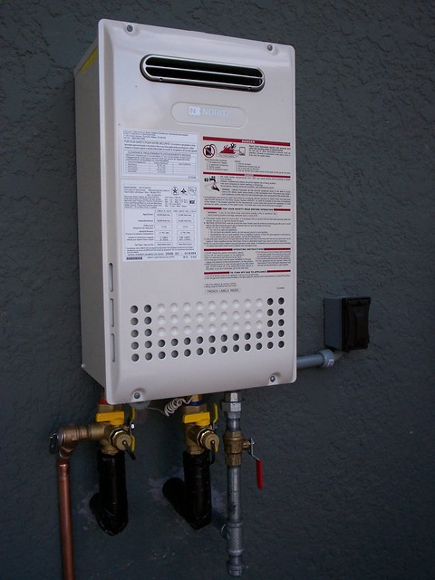Noritz Residential Tankless Water Heater Nr98 Od Flickr