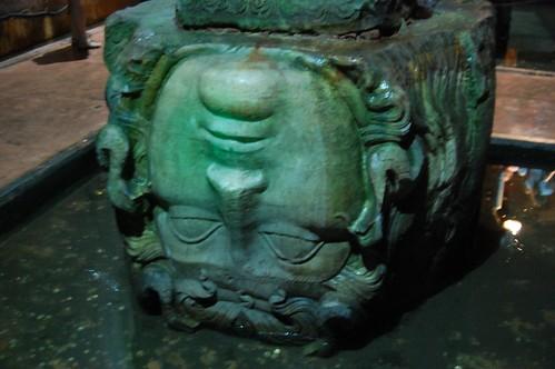 Medusa Head in the Underground Cistern
