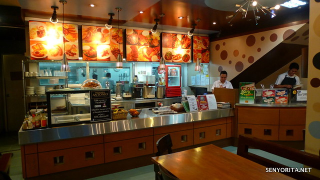 Inside Panaderia Antonio Bakery & Restaurant - Calasiao, Pangasinan