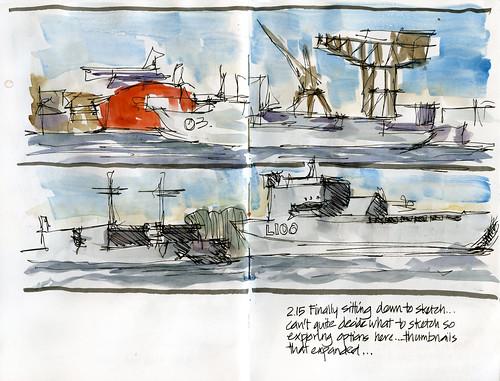 120825_03 Garden Island Ships