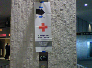 Isaac: Tampa airport directing Red Cross volunteers