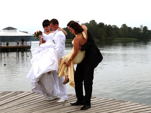 Bride in Trakai, Lithuania