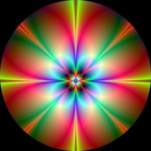 Digitale Blume auf CD gepresst … Art Numérique