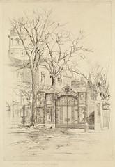 Johnson Gate, Harvard