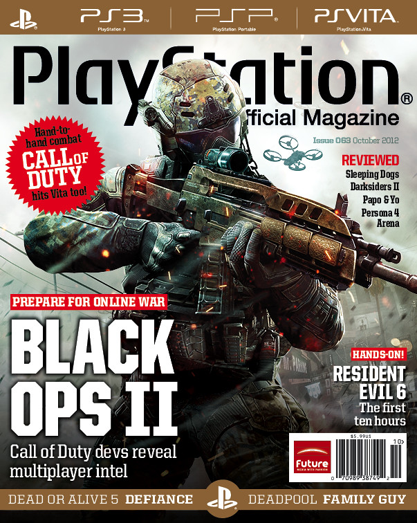 PlayStation: The Official Magazine -- October 2012 Cover