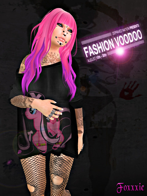 Fashion Voodoo look #4a