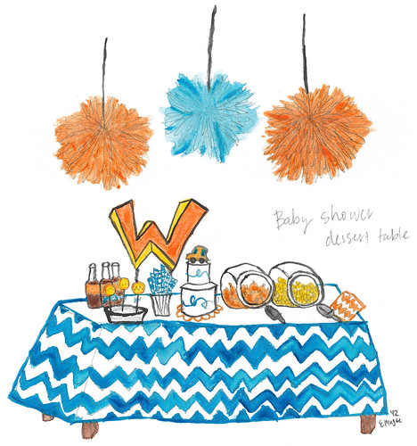 Baby Shower Sketch 1.0