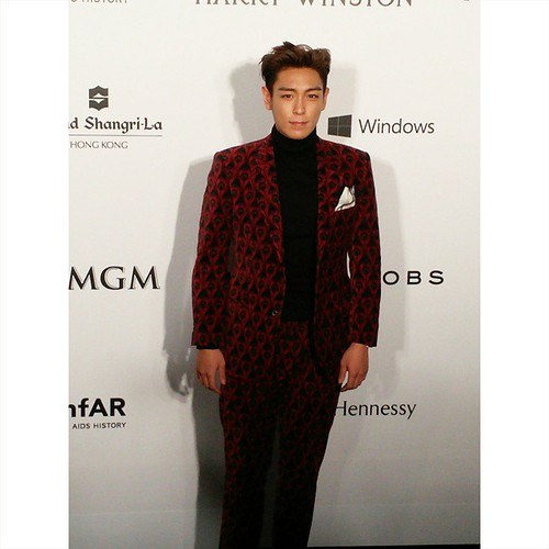 TOP - amfAR Charity Event - Red Carpet - 14mar2015 - occasionspr - 01