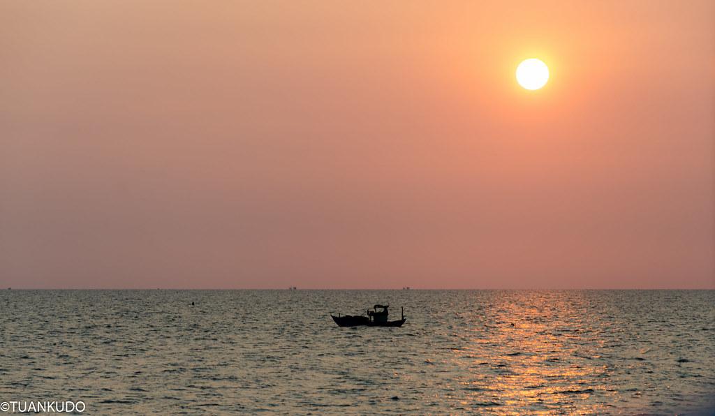 Hoàng hôn biển Phú Quốc