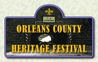 Thu, 09/01/2016 - 10:55 - The Orleans County Heritage Festival logo