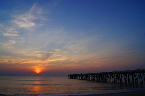 ocean morning sea sun beach water sunrise landscape pier florida unique places flickraward