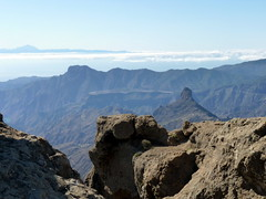 Gran Canaria - Roque Bentaiga & Mount Teide in the Spring