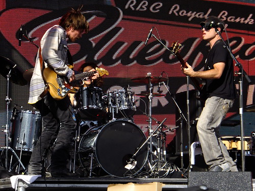 Lukas Nelson at Ottawa Bluesfest 2012
